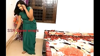 Indian servant forced intercourse in low-spirited saree