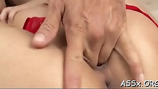 Oriental darling sucks shlong wildly after lusty anal hammering